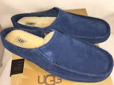 UGG AUSTRALIA Men's SLIPPERS ALAMAR New Navy Blue SUEDE TWINSOLE 1006791 17 & 18