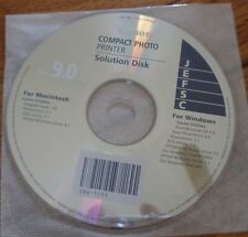 CANON Compact Photo Printer SOLUTION DISK Ver 9.0 for MAC and Windows CD
