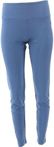 Women with Control Tummy Control Ankle Pants Denim Dusk M NEW A286518