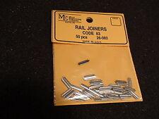 MICRO ENGINEERING #26-083 RAIL JOINERS HO CODE 83 / 50PCS BIGDISCOUNTTRAINS