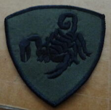 Russian  army  Scorpio spetsnaz .EMBROIDERED patch  #412 sasa