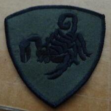 Russian  army  Scorpio spetsnaz .EMBROIDERED patch  #412 sasa