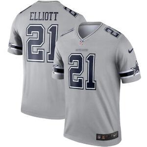 New NFL Dallas Cowboys Ezekiel Elliott Nike Inverted Alternate Legend Jersey NWT