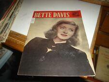 """COLLANA STELLE E DIVI """"BETTE DAVIS"""" - ED. RICOTTI 1/12/1946"""