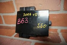 2005-2009 VOLVO S60 FRONT LEFT DRIVER SIDE SEAT COMPUTER CONTROL MODULE OEM*