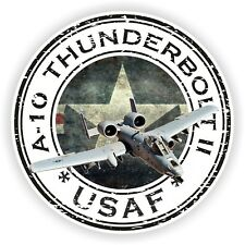 A-10 Thunderbolt II USA USAF Sticker Air Force Military Seal for Bumper Luggage
