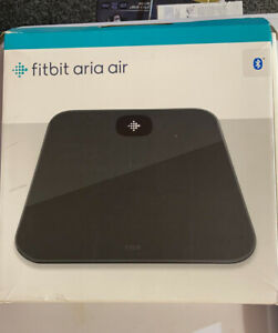 Fitbit Aria Air Wi-Fi Smart Scale - Black Weighing Scale Weight Scale