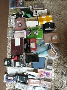Job Lot Of Phone TABLET Cases/covers/pouches/screen Protectors SEE PICS BRANDS £