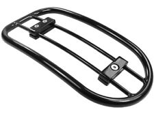 INDIAN CHIEF DARK HORSE / CHIEFTAIN Black Solo Luggage Rack / Carrier 668-0131BK