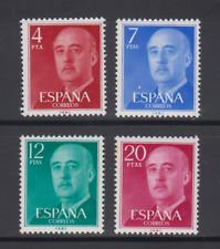 ESPAÑA (1974) SERIE COMPLETA EDIFIL 2225/28 NUEVOS SIN FIJASELLOS MNH FRANCO