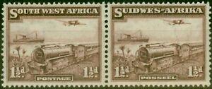 S.W.A 1937 1/2d Purple-Brown SG96 V.F Very Lightly Mtd Mint