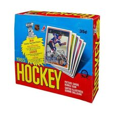 1984-85 O-Pee-Chee Hockey Wax Box