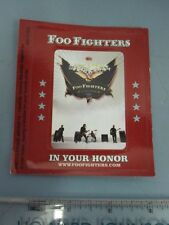 Foo Fighters 2005 In Your Honor promotional Magnet New Old Stock Mint Condition