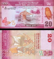 SRI LANKA - 20 rupees 2015 FDS - UNC