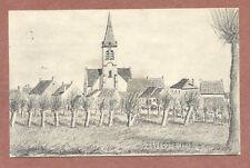 Zevecote Church Belgium 1916, Fraulein Horsloff Altona Elbe Hamburg AH91