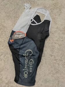Hincapie Cycling Bib Shorts Women 2XL S Cycles Gladiator Wine Black