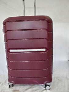 "$480 Samsonite Freeform 28"" Hard Check-In Spinner Luggage Suitcase Merlot"