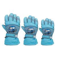 Boys Kids Youth Girls Winter Ski Snow Gloves Waterproof Fleece Themal Warm Sport