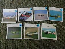 Switzerland Swiss Trainers Military Warplanes Aircraft Lot 7 History Photo Cards
