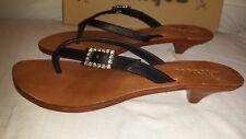 Mystique sandals style #522 Black Size 9