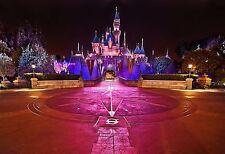 Disneyland Sleeping Beauty Castle 24 x 36 Poster Disney