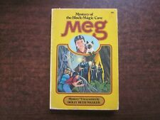 MEG & THE MYSTERY OF THE BLACK-MAGIC CAVE by Holly Beth Walker 1978 Book #5