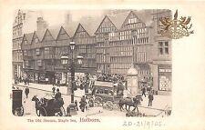 B85679 the old houses staple inn  holborn chariot   london uk