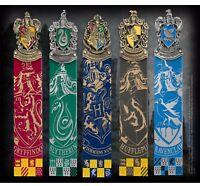 Harry Potter Hogwarts House Crest Bookmarks Official Noble New UK Licensed