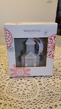New Wedgewood Bas Relief Grey Church Ornament New