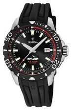 Festina | Duikers Voor Heren | Zwarte Rubberen Band F20462/2 Horloge