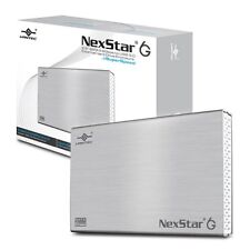Vantec NST-266S3-SV 2.5-Inch SATA 6Gb/s to USB 3.0 HDD/SSD Enclosure, Silver