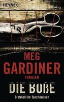 Gardiner, M: Buße von Meg Gardiner (2012, Taschenbuch) ++Ungelesen++