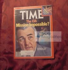 TIME magazine February 6 1978 Feb 2/6/78 STANSFIELD TURNER CIA ++