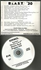 RARE PROMO CD Smithereens PAUL HAIG Moon Martin & PLACEBO Skold THROWING MUSES
