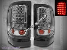 1994-2001 DODGE RAM 1500 2500 3500 PICKUP LED TAIL LIGHTS SMOKE NEW 95 96 97 99