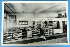 "1938 Chevrolet Dealer Parts Showroom 12 X 18"" Black & White Picture"