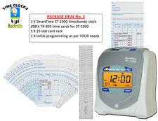 EMPLOYEE TIME CLOCK BUNDY RECORDER NEW ST-1000