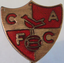 More details for charlton athletic fc vintage club crest type badge stick pin in gilt 21mm x 22mm