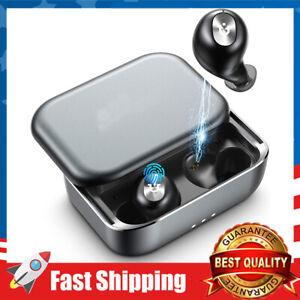 Wireless Earbuds Bluetooth in-Ear Stereo Headphones Waterproof Built-in Mic