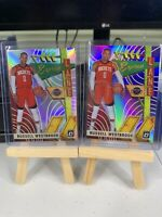 2019-20 Optic Russell Westbrook Express Lane Silver Holo Foil+BASE Parallel #7