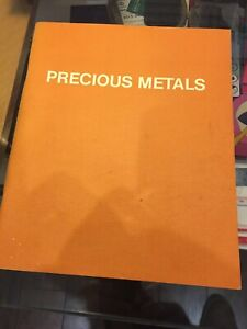 Precious Metals by Palmer, Roger Paperback 1st 1986