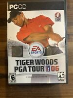Tiger Woods PGA Tour 06 2006 EA SPORTS PC CD-ROM Game 3 Discs, Box, And Manual