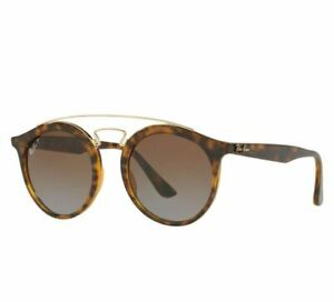 Ray Ban RB4256 710/T5 Gatsby Jackie Double Bridge Tortoise Polarized Sunglasses