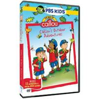 The Best Of Caillou: Caillou's Outdoor Adventures - DVD - VERY GOOD