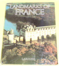 Landmarks of France - Many Photos 1983 Large Book Nice See!