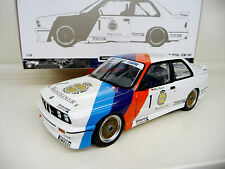 1:18 Minichamps bmw m3 e30 evo DTM Zakspeed 1987 Hessel eras una #1 nuevo New