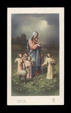 """santino-holy card""""""""ediz. FB serie 4 n.25 MARIA MADRE DI DIO"""