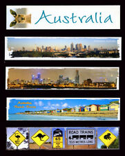 Assorted Bookmarks , Australia, Melbourne, Roadsigns, Brighton Beach Boxes