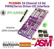 PCA9685 16 Channel 12 bit PWM Servo Driver I2C Interface for Arduino Raspberry