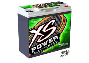 XS Power PS680L 1000 Amp 12V Power Cell 1000W AGM Car Battery CA: 370/Ah: 20